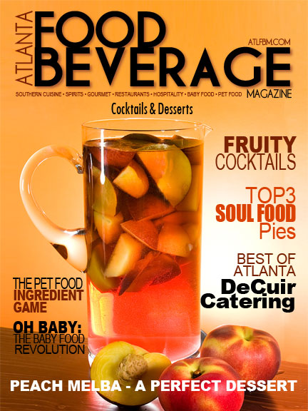 Atlanta Food and Beverage Magazine Cover