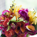 fuschia wedding flowers