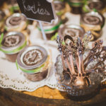 family recipe wedding favors