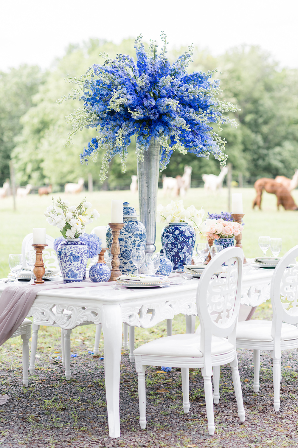 chinoiserie farm wedding