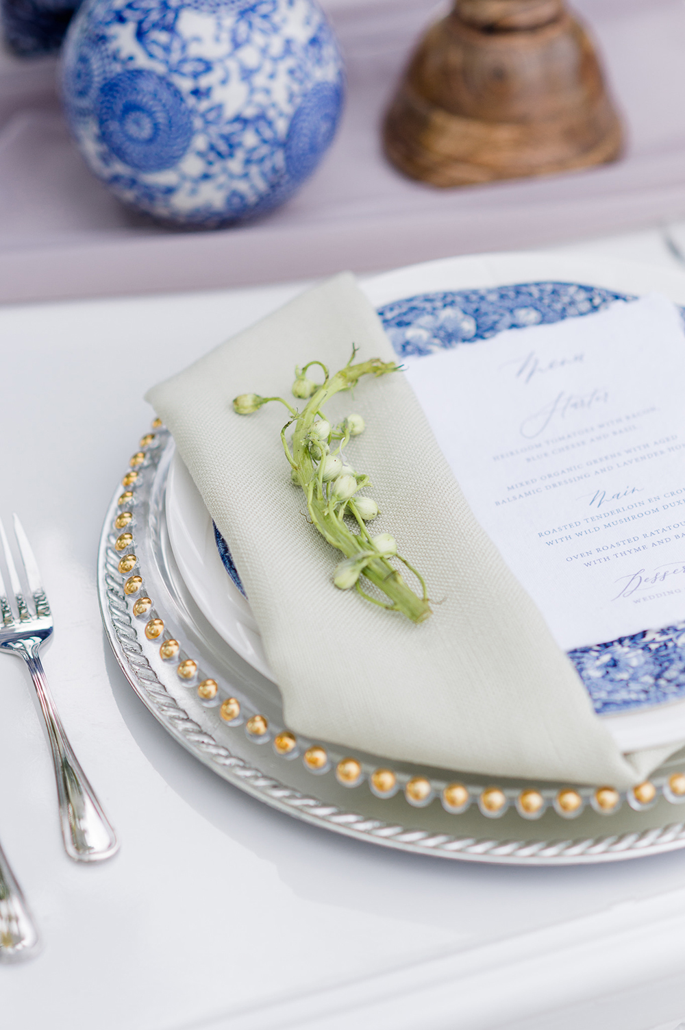 chinoiserie glam wedding
